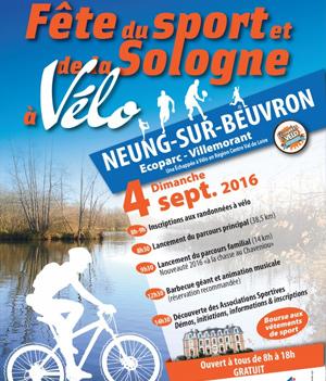 Fête du Sport et de la Sologne à Vélo – 4 sept 2016