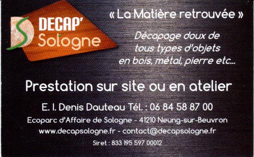Dcapage Doux De Tous Types Dobjets En Bois Mtal Pierre Etc Prsentation Sur Site Ou Atelier E L Denis Dauteau Tl 06 84 58 87 00