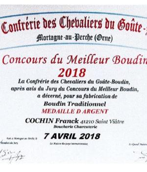 Concours du meilleurs Boudin 2018