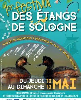 1er Festival des Etangs de Sologne   du 10 au 13 mai