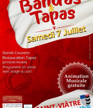 Les Bandas  Tapas – 7 juillet 2018