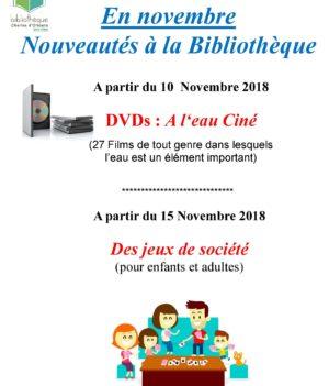 En Novembre – Bibliothèque
