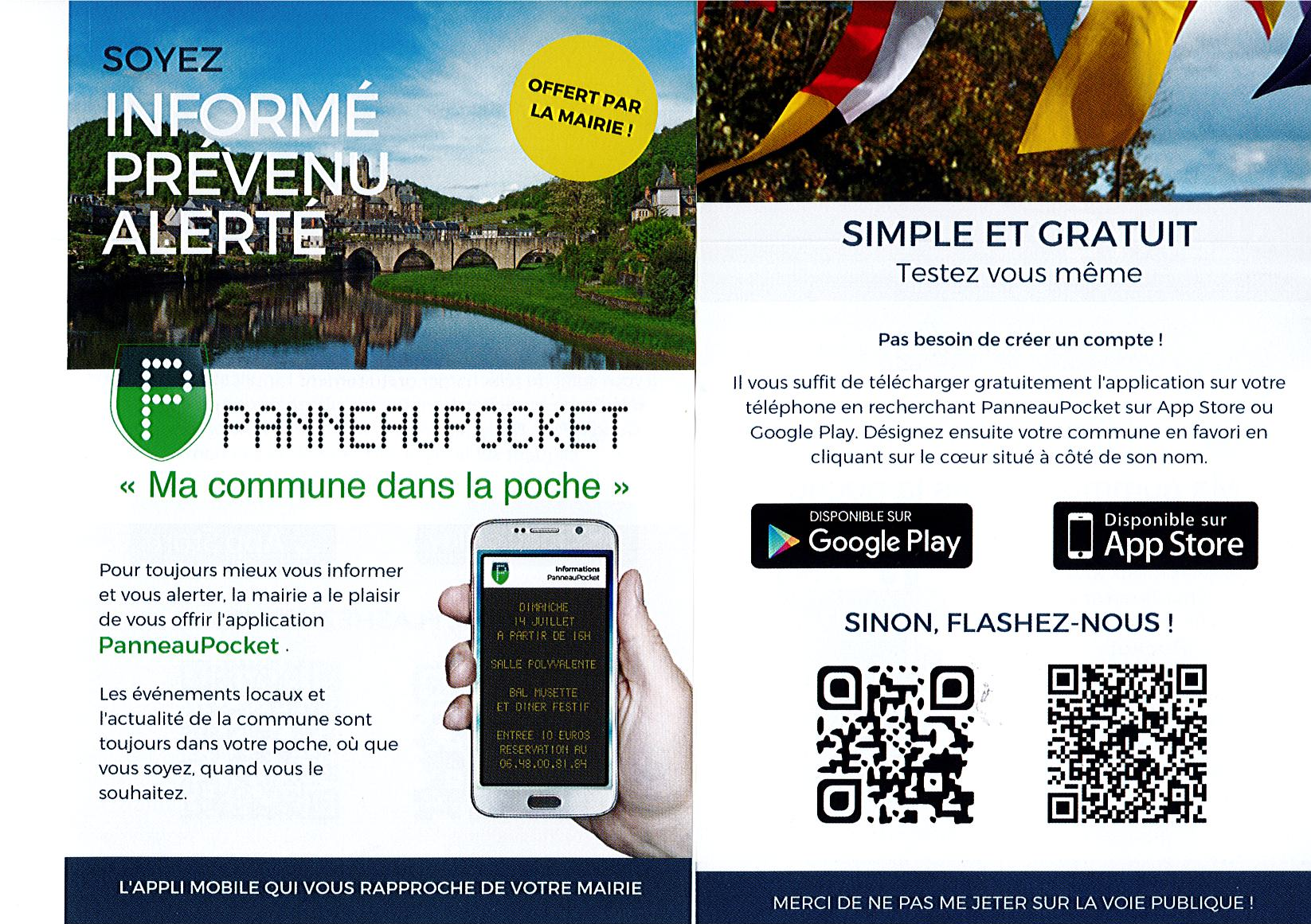 APPLICATION PANNEAUPOCKET TÉLÉCHARGER