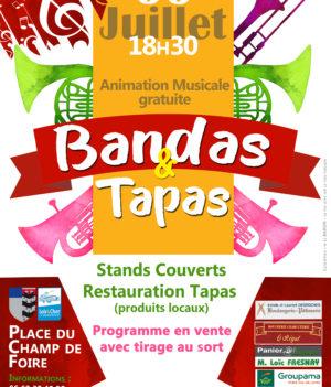 Bandas Tapas / 6 juillet