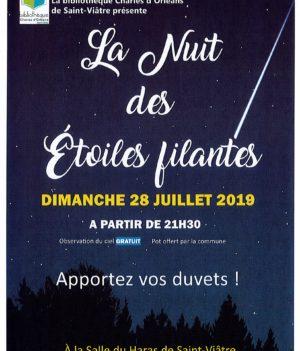 Nuit des étoiles filantes 2019