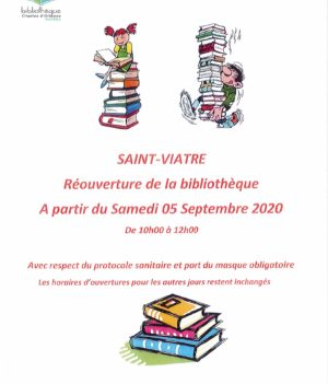 Réouverture Bibliothèque !