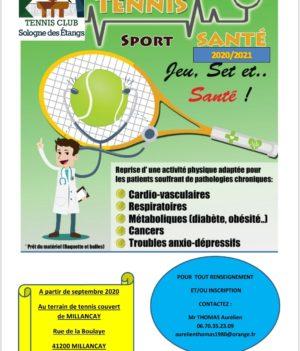 Tennis Sport et Santé
