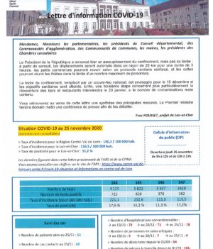 Lettre d'information COVID-19