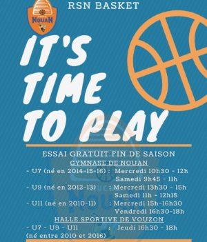 Basket Nouan / essai gratuit