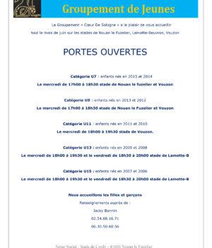 Cœur de Sologne / Portes ouvertes en juin