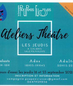 Ateliers théâtre / Salbris