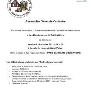 AG Les randonneurs de Saint-Viâtre